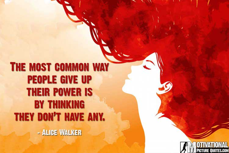 women power quotes by Alice Walker
