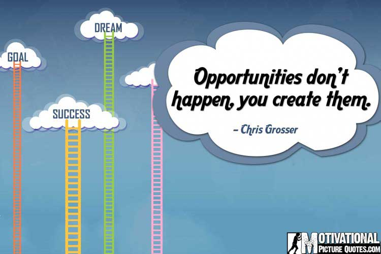 inspirational career quotes by Chris Grosser