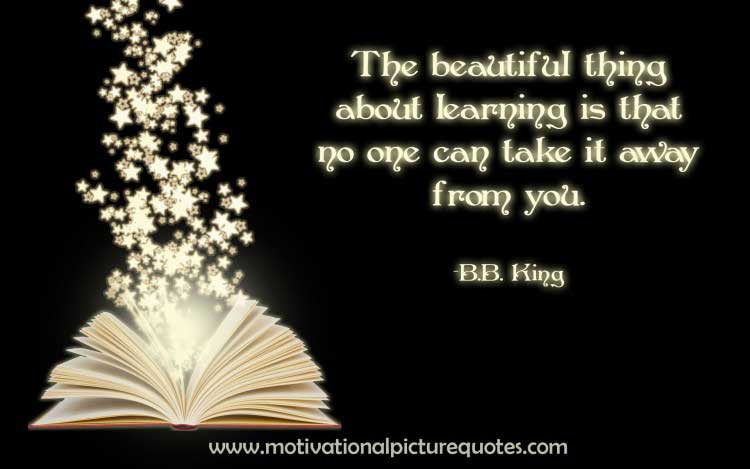 bb king quotes for student