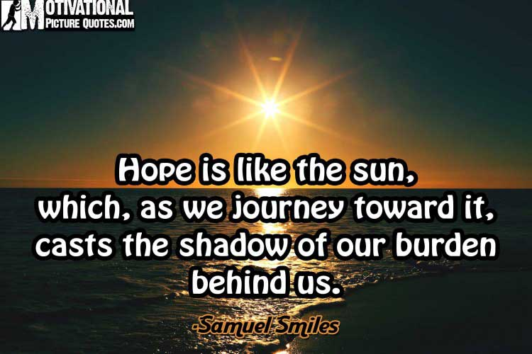 Best Motivational quotes about Hope