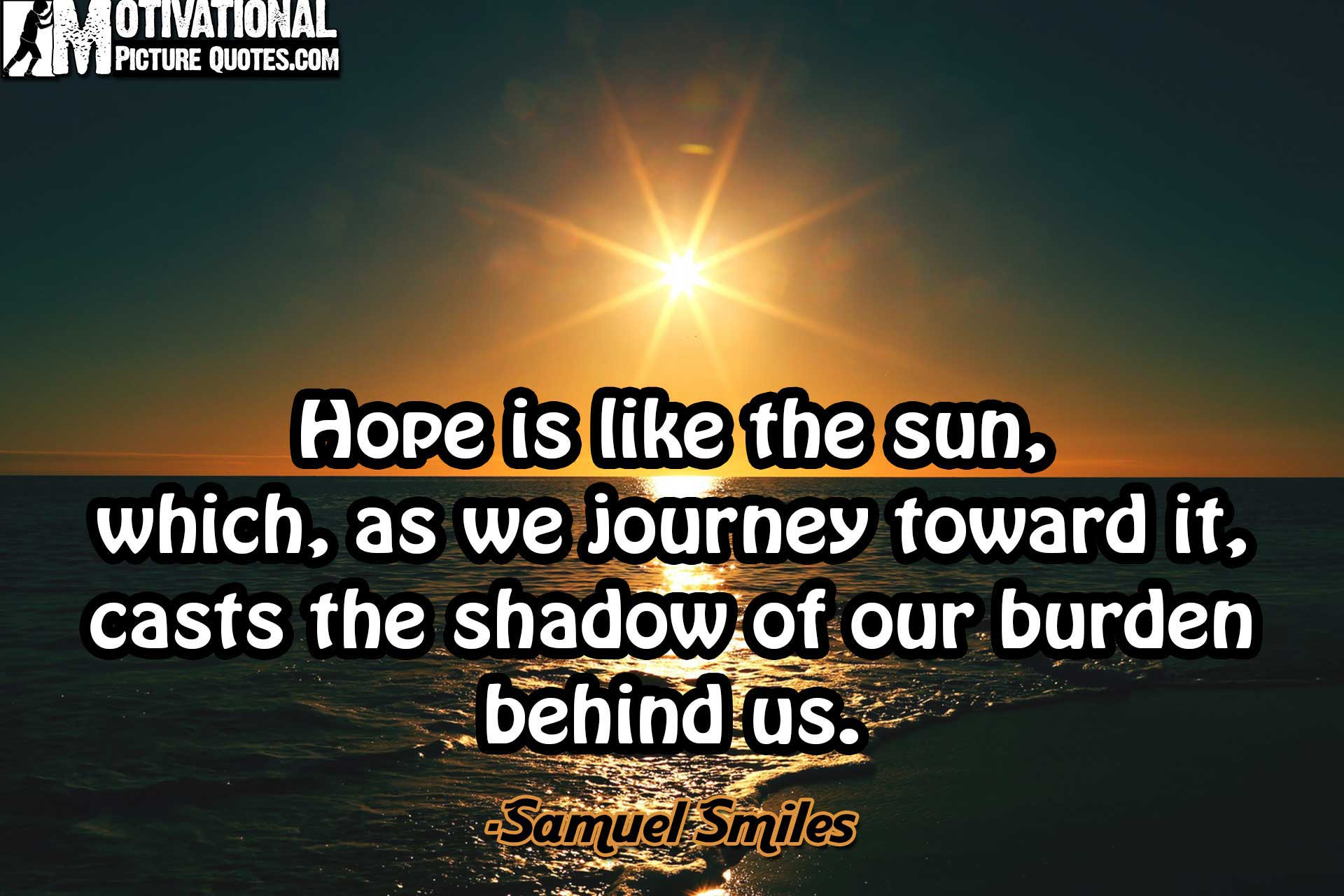 Lovely Best Motivational Quotes About Hope