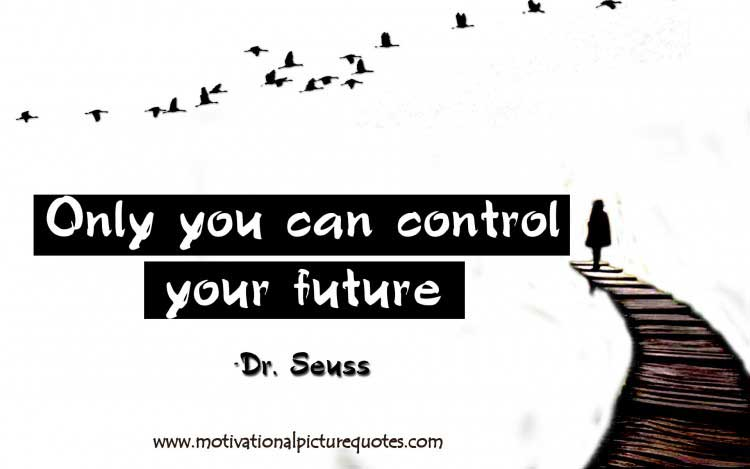 Inspirational picture quote about Future