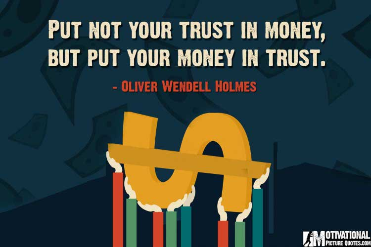 investing quotes by Oliver Wendell Holmes