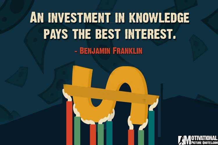 quotes on investing by Benjamin Franklin