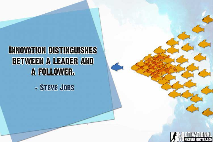 inspirational quotes about leadership by Steve Jobs