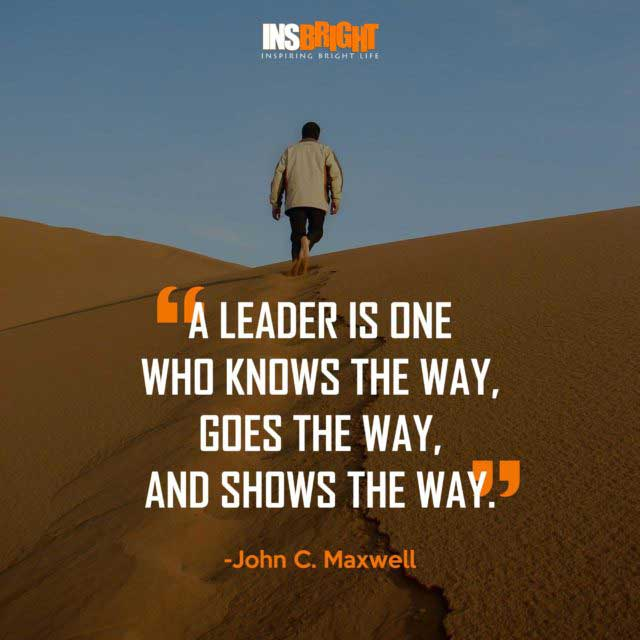 good leadership quotes by John C. Maxwell