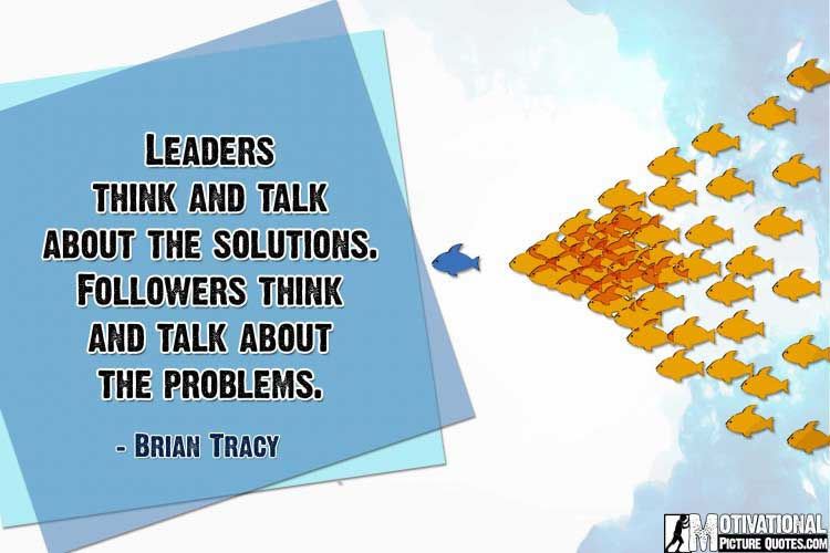 quote about leadership by Brian Tracy