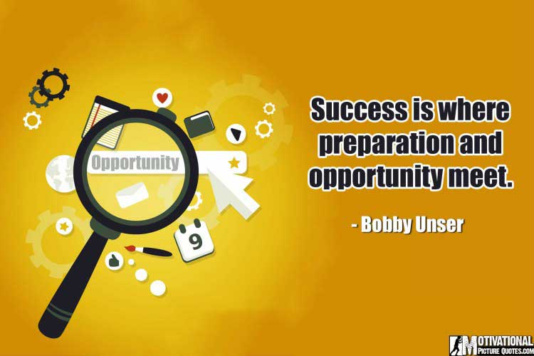 Sayings about Opportunities by Bobby Unser
