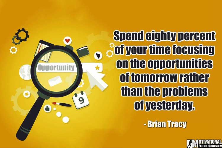 inspiring Opportunity Quotes by Brian Tracy