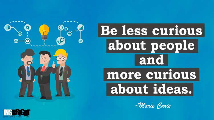 good ideas quotes by Marie Curie