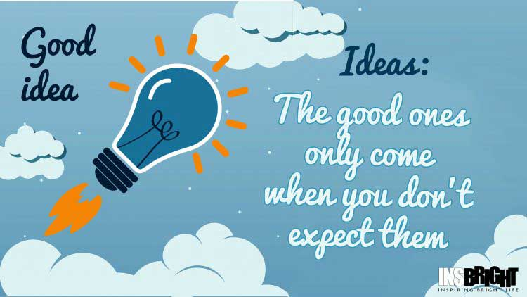 best ideas quote