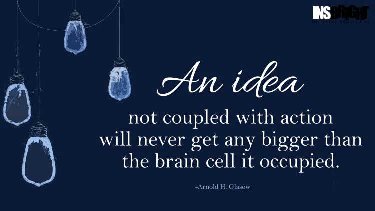 ideas quotes by Arnold H. Glasow