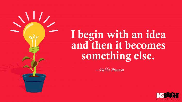 innovative ideas quotes by Pablo Picasso
