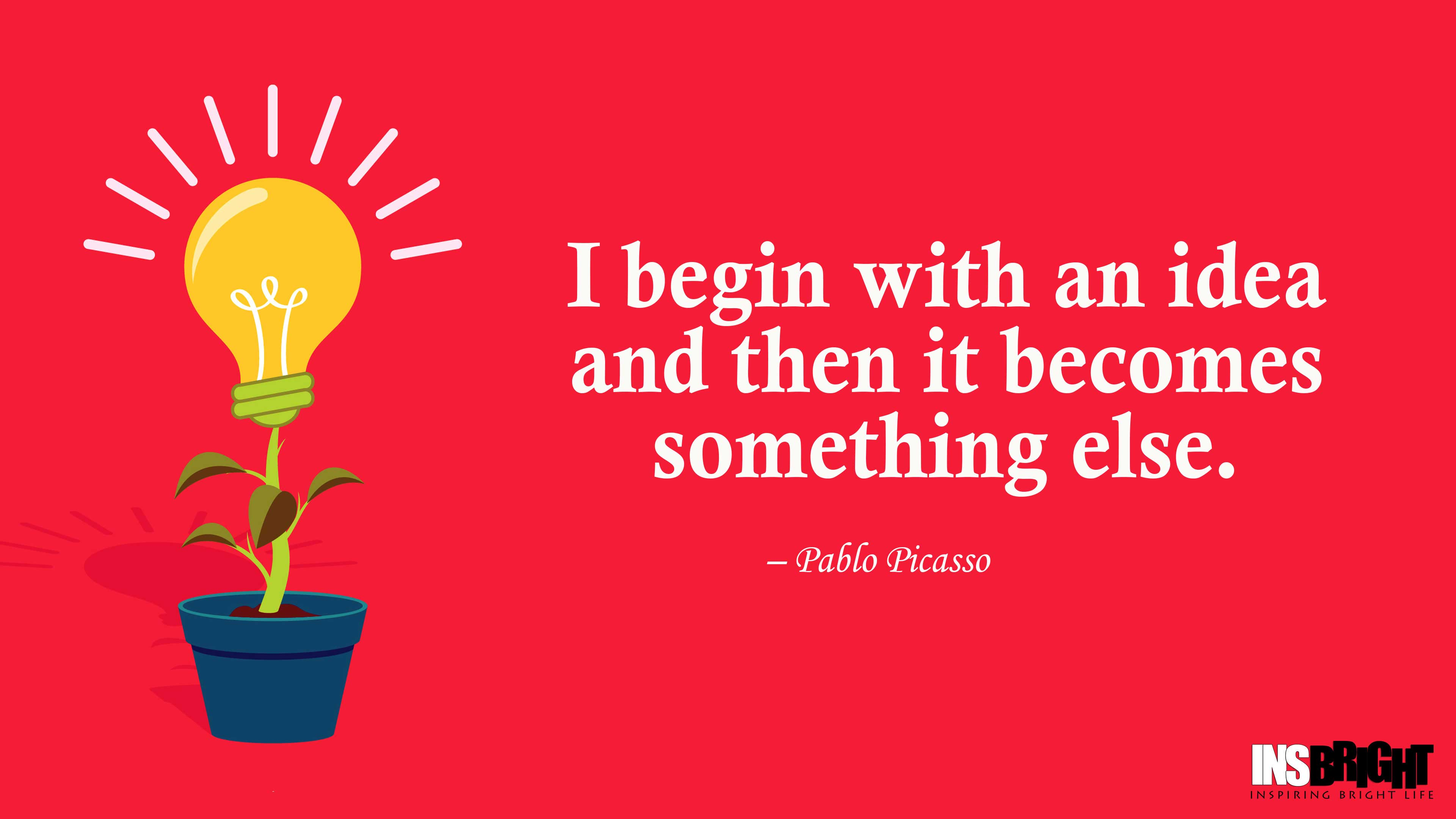 24+ Inspiring Idea Quotes With Images | Insbright