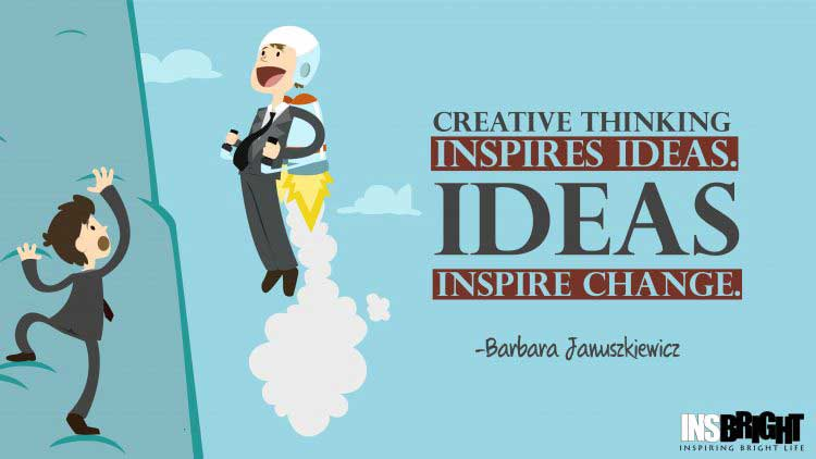 inspiring ideas quotes by Barbara Januszkiewicz