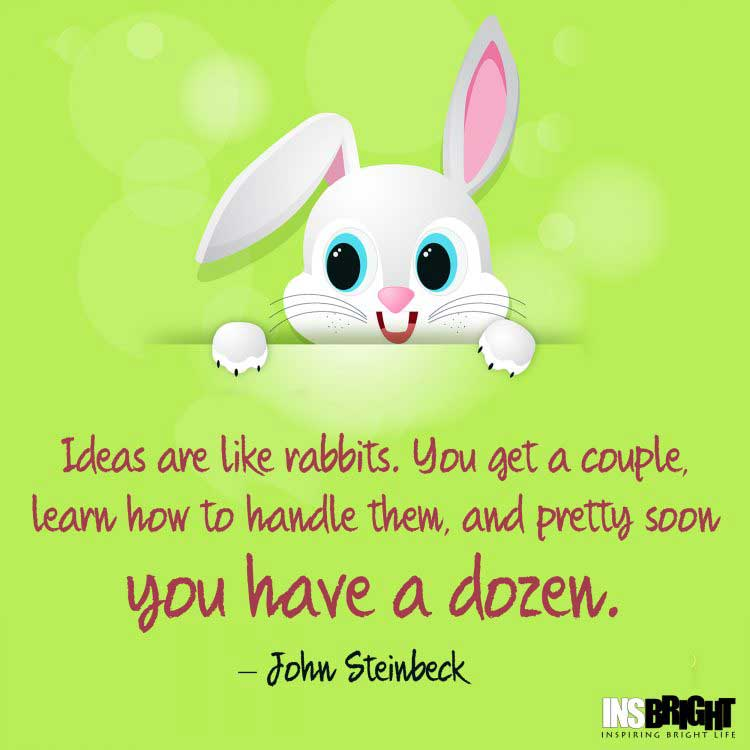 John Steinbeck sayings about ideas