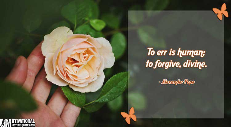 forgiveness quote by Alexander Pope
