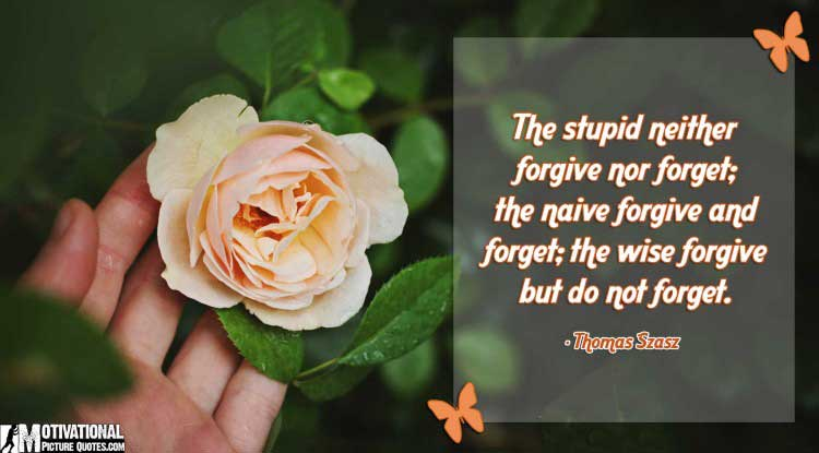 quote for forgiveness by Thomas Szasz