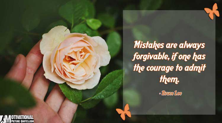 quotes of forgiveness by Bruce Lee