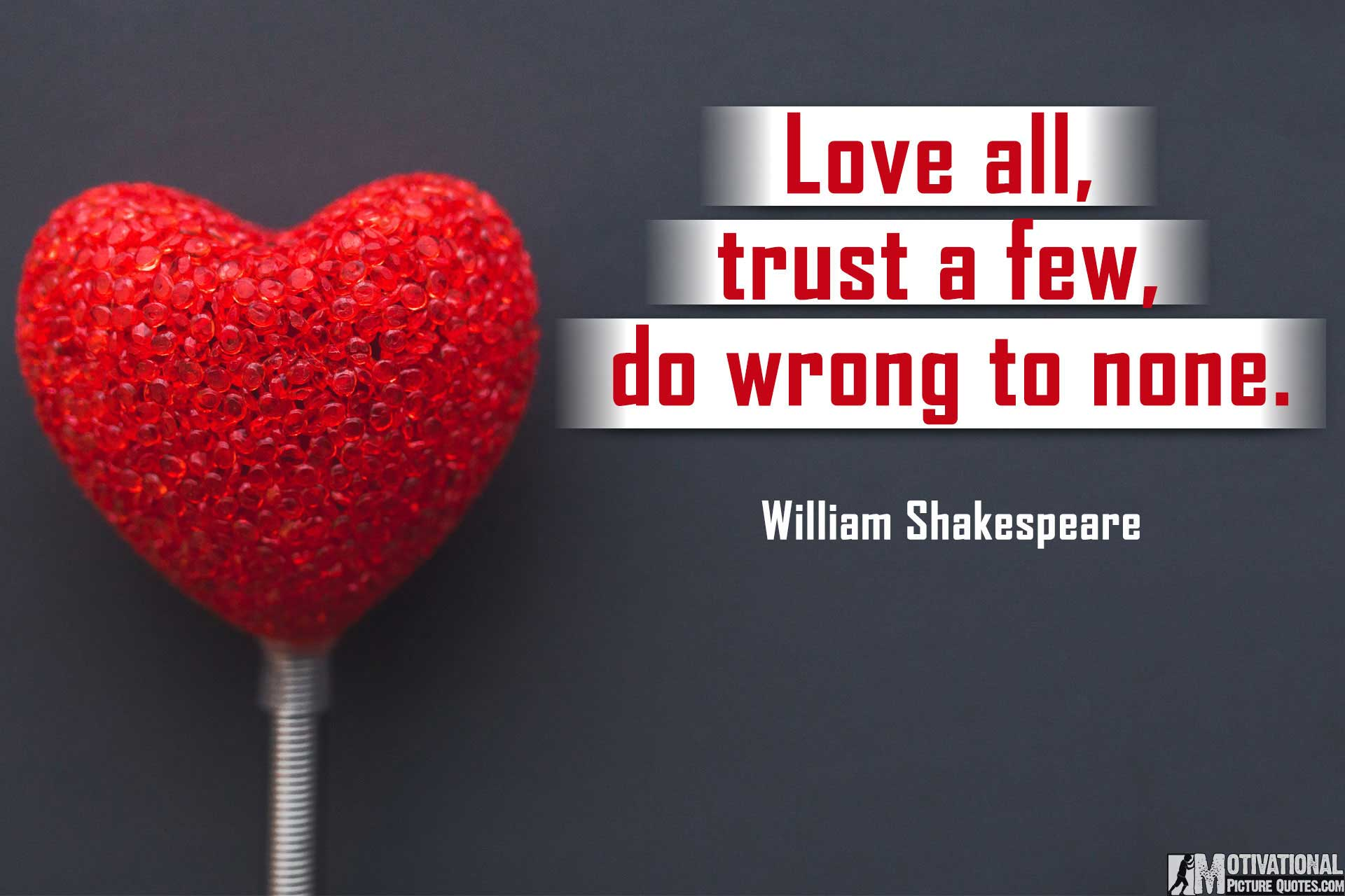 Trust Quotes For Relationships By William Shakespeare