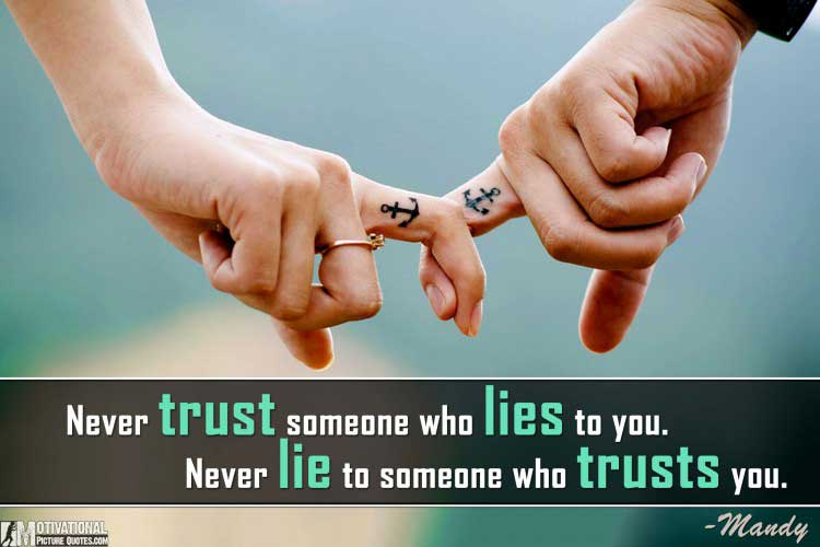 quote on trust by Mandy