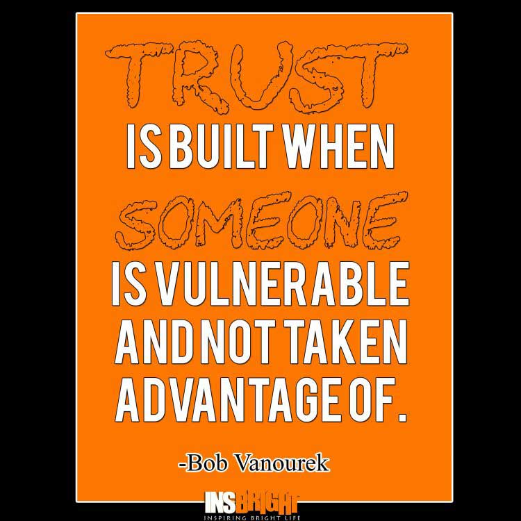 quotes about building trust