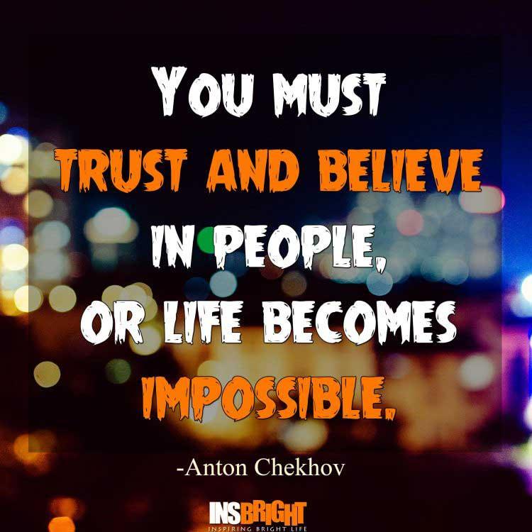 trust in life quotes