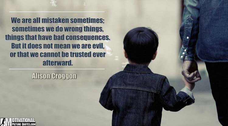 trust no one quotes by Alison Croggon