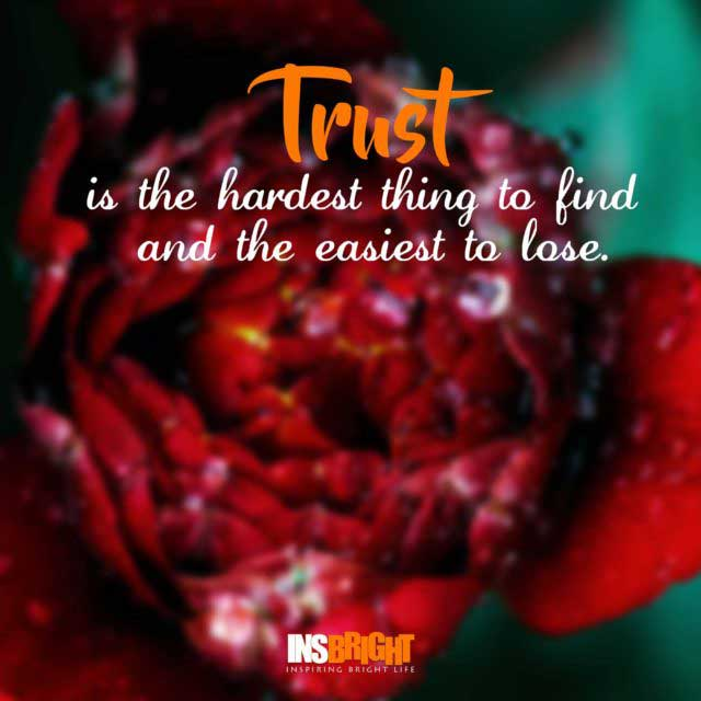 trust quotes for relationships and love