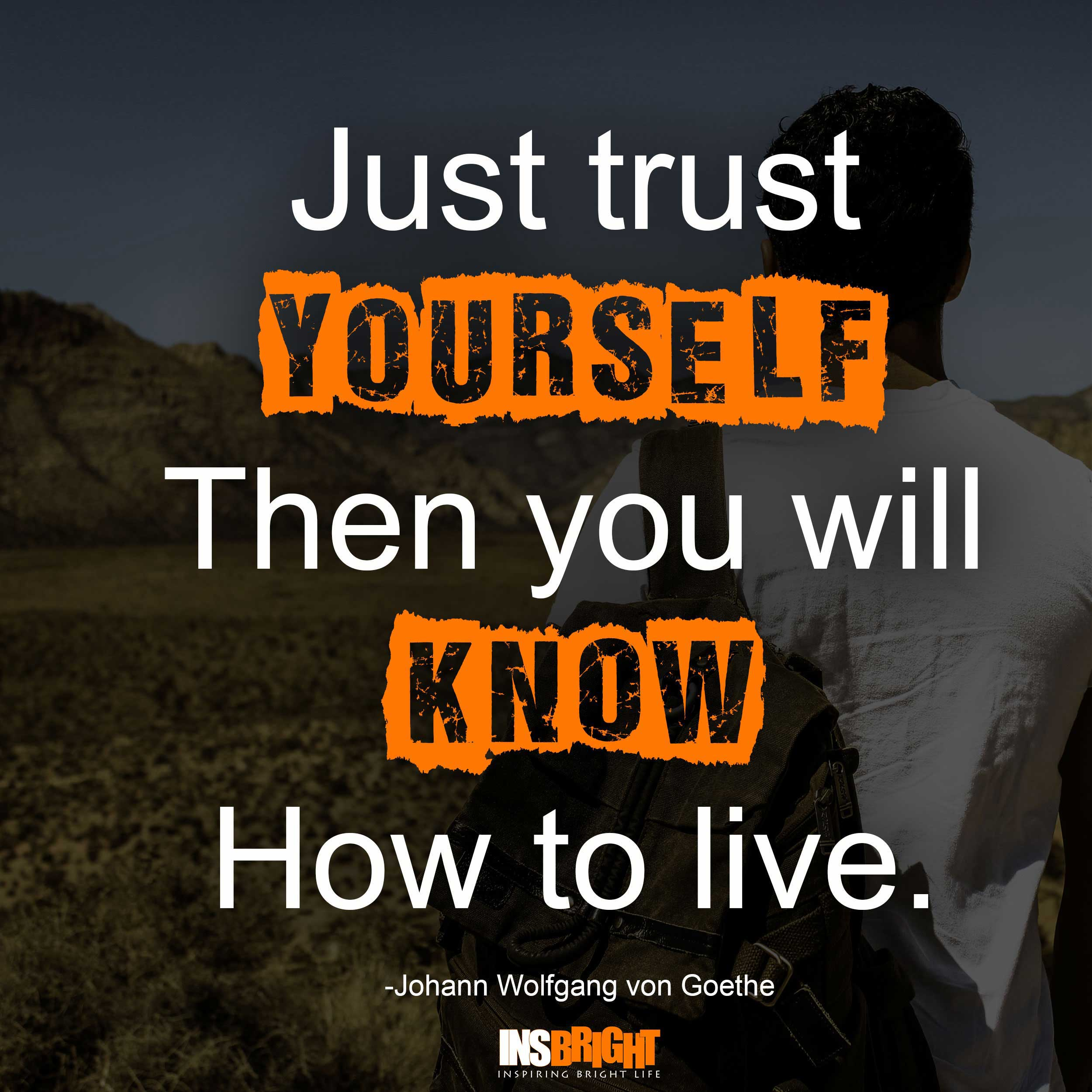 how to live for yourself