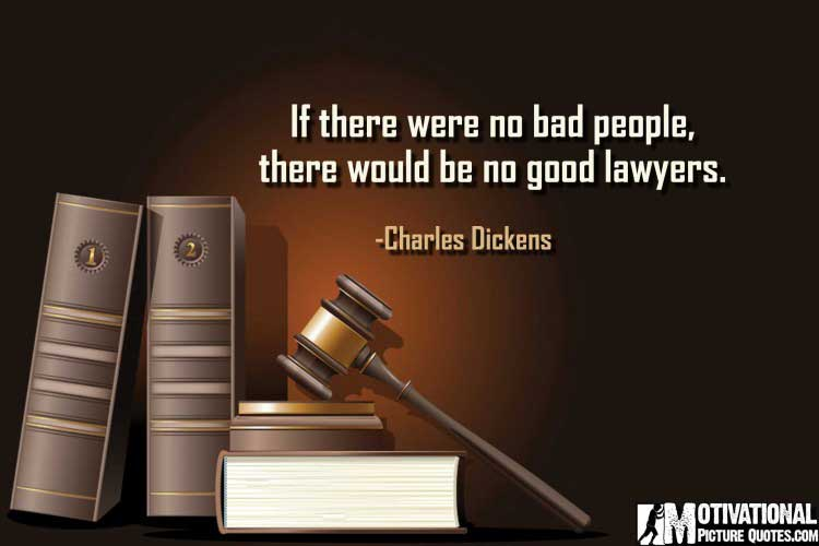 famous lawyer quotes by Charles Dickens