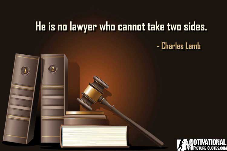 quotes about lawyer by Charles Lamb
