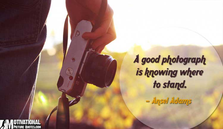 quotes about photography by Ansel Adams