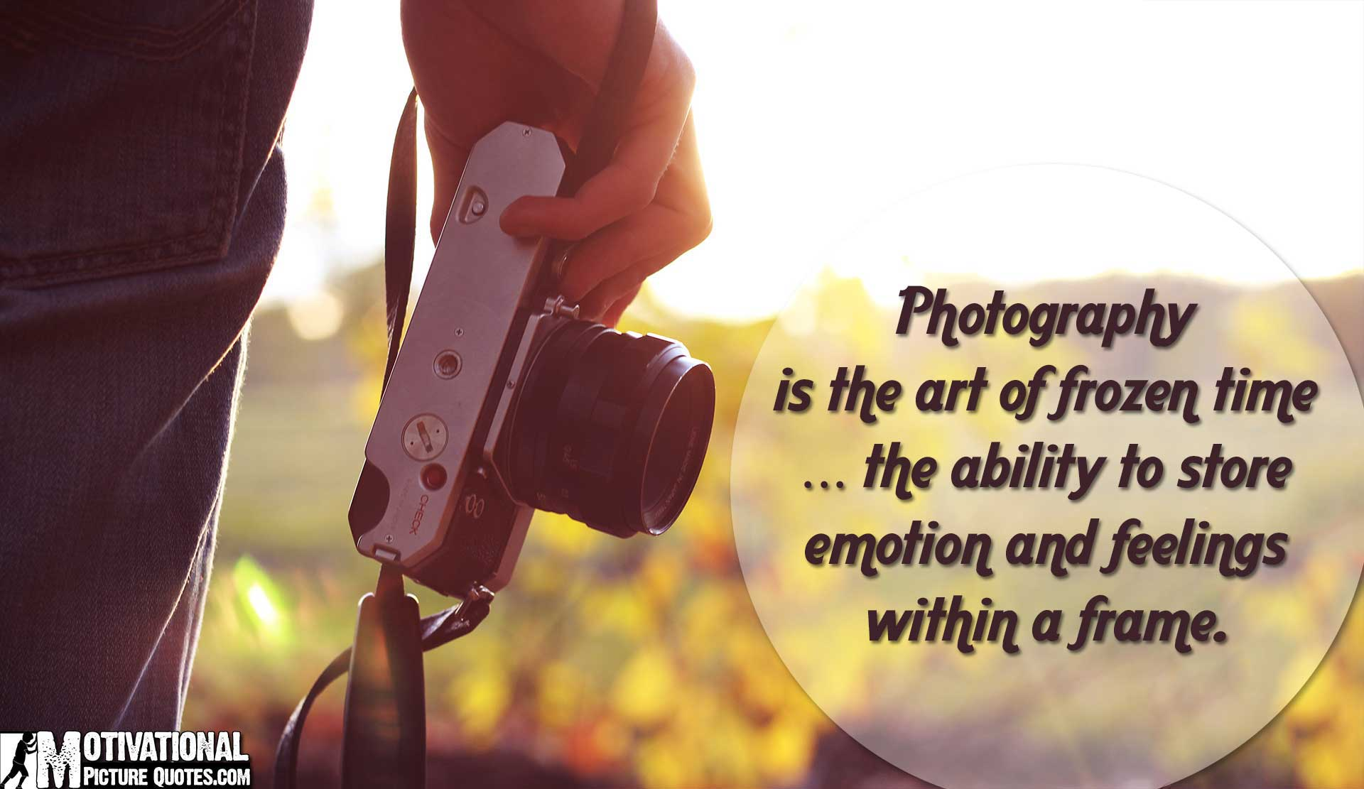 12+ Short Inspirational Photography Quotes
