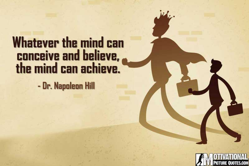 Inspirational Entrepreneurship Quotes by Dr. Napoleon Hill