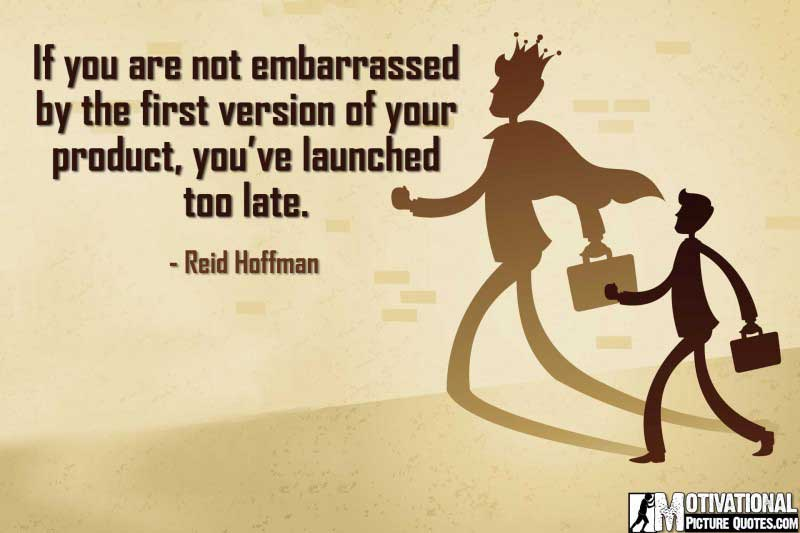 Inspiring Young Entrepreneur Quotes by Reid Hoffman