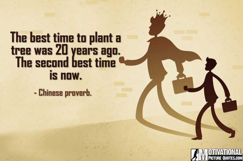 Motivational Entrepreneurship Chinese proverb.