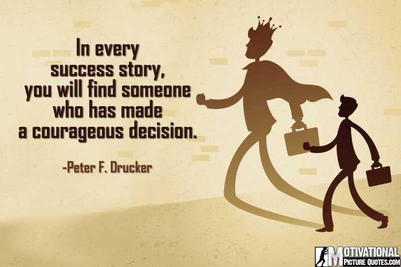 Entrepreneur Quotes With Pictures by Peter F. Drucker