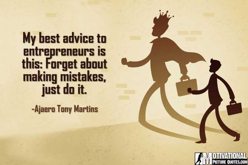 Start Up Business quotes by Ajaero Tony Martins