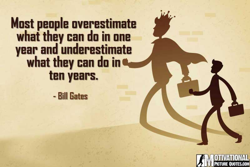 entrepreneur quote by Bill Gates